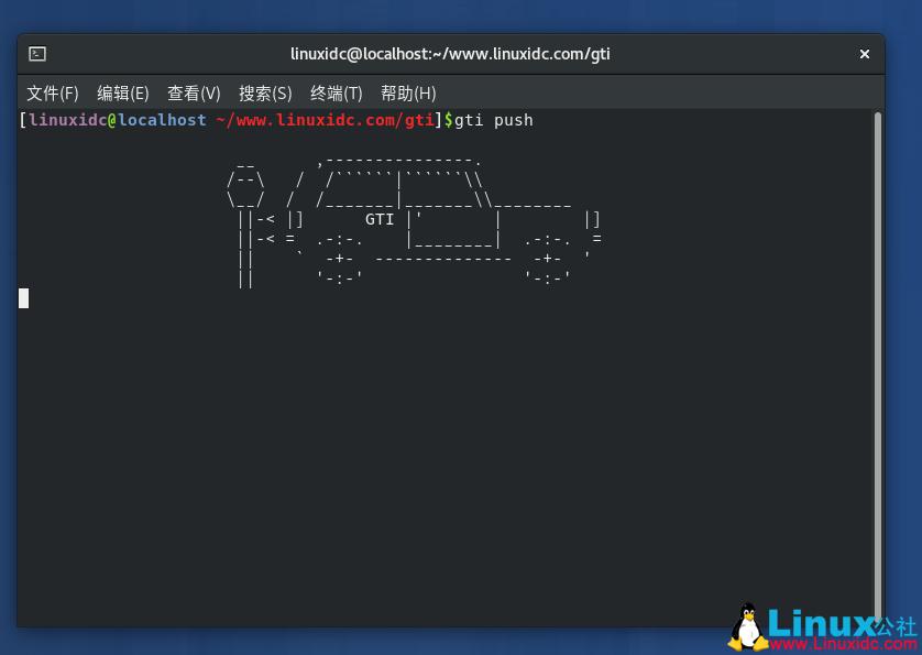 Linux桌面的乐趣:错把gti当作git输入时得到大众高尔夫汽车