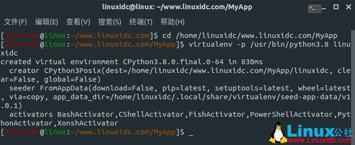 如何在Ubuntu 20.04和18.04上创建Python虚拟环境