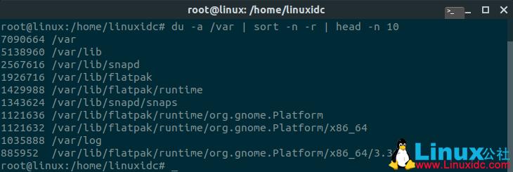 如何在Linux Ubuntu中查找大文件