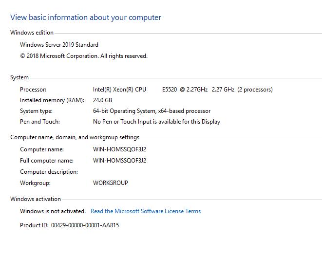 windows server  2019 服务器拿到手开始常规操作