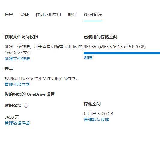 悲惨的事情发生:OneDrive5T升级  25T 全部翻车