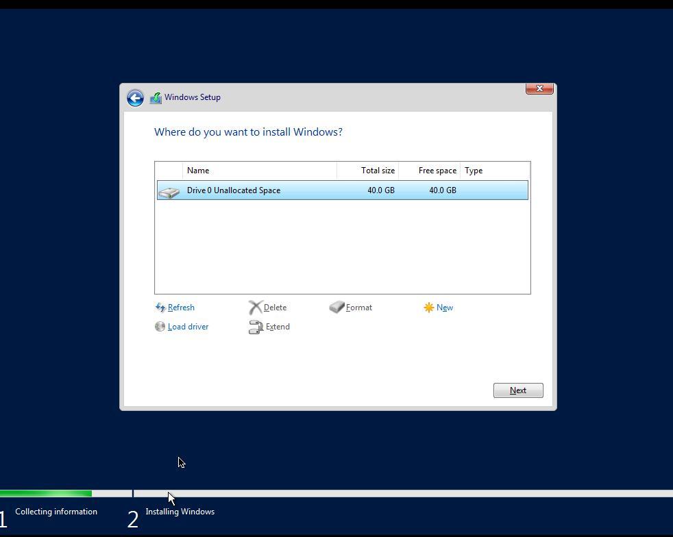 NetCup 安装Windows Server 2019 EN-US for Evaluation (180 Days)   注意事项